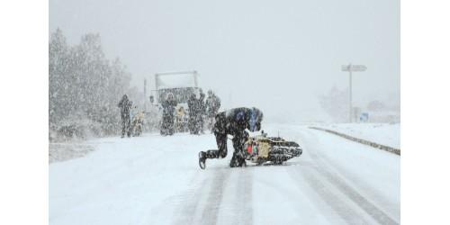 Можно ли использовать мотоцикл зимой?