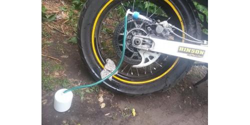 Прокачка тормозной системы мотоцикла