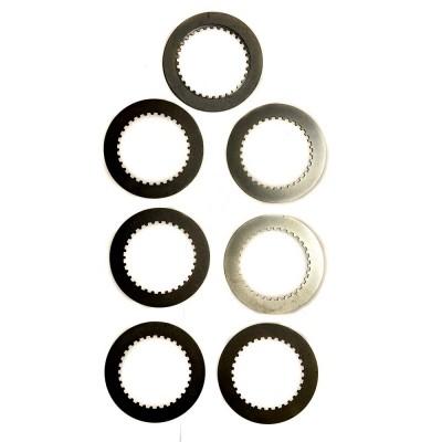 Диски промежуточные корзины сцепления ИЖ, металл (1 комплект - 7 шт)