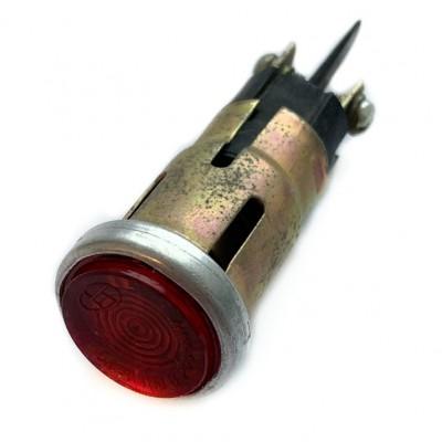 Глазок панели приборов (красный) с лампочкой МТ Днепр
