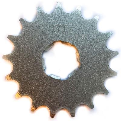 Звезда ведущая в двигатель 16 зуб, 17 зуб Ява