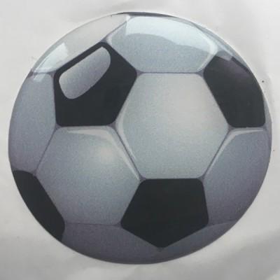 Наклейка силиконовая Футбольный мяч