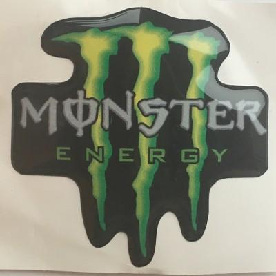Наклейка силиконовая Monster Energy