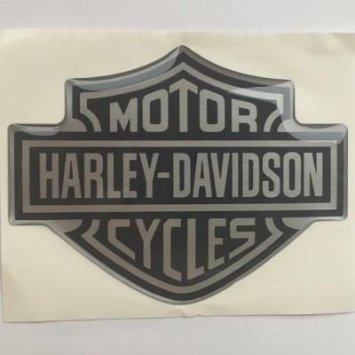 Наклейка силиконовая Harley-Davidson Motor Cycles