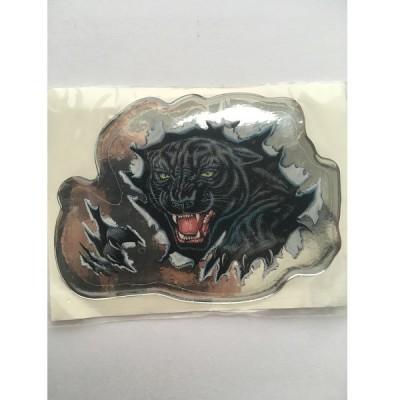 Наклейка силиконовая Пантера с когтями