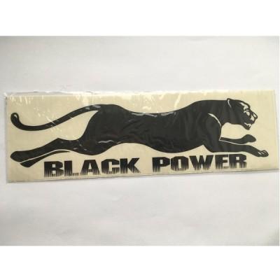 Наклейка Black Power №1