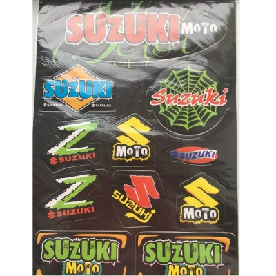 Набор наклеек Suzuki №1