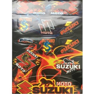 Набор наклеек Suzuki №2