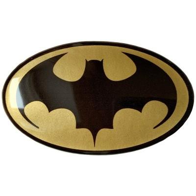 Наклейка силиконовая BATMAN (золотая)