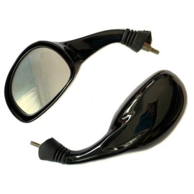 Зеркала чёрные диаметр 8