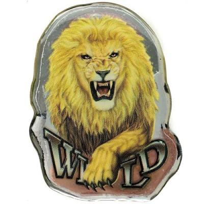 Наклейка силиконовая Лев