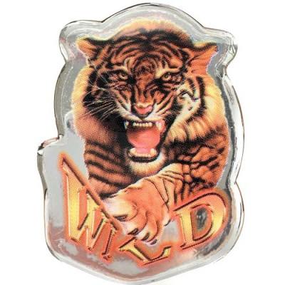 Наклейка силиконовая Тигр