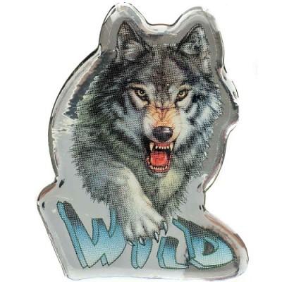 Наклейка силиконовая Волк