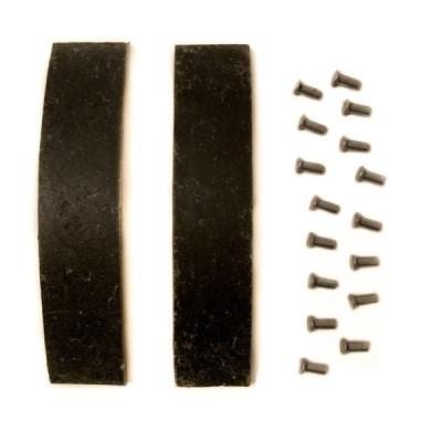 Накладки тормозные Муравей с заклёпками