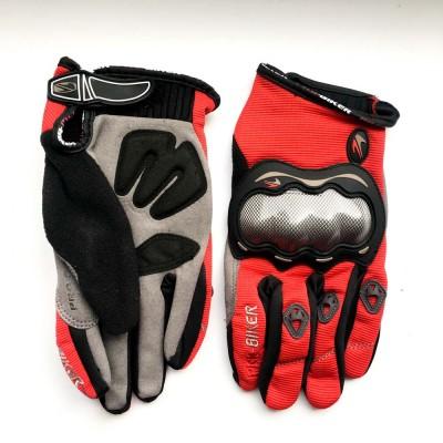 Мотоперчатки MOTO-SPORT (красные)