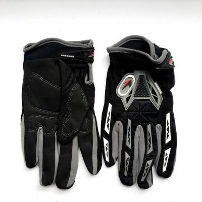 Мотоперчатки PRO-BIKER (серо-черные)