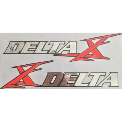 Наклейка бака Delta