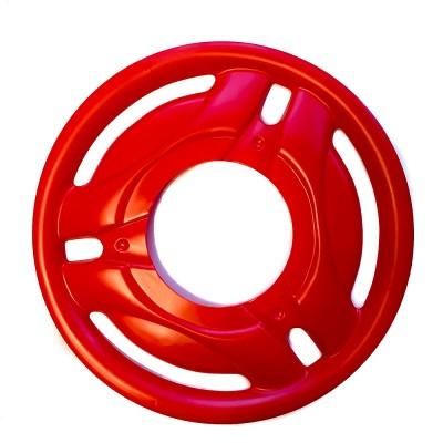 Колпак колеса Ява (красный), комплект - 4 шт