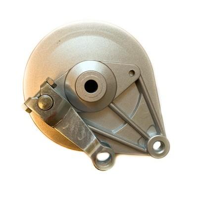 Крышка заднего тормоза барабана с колодками Дельта