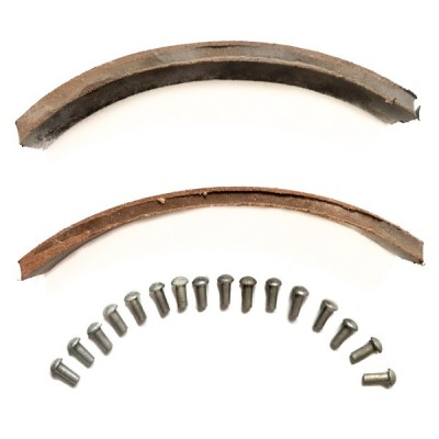 Накладки тормозных колодок с заклепками МТ Днепр