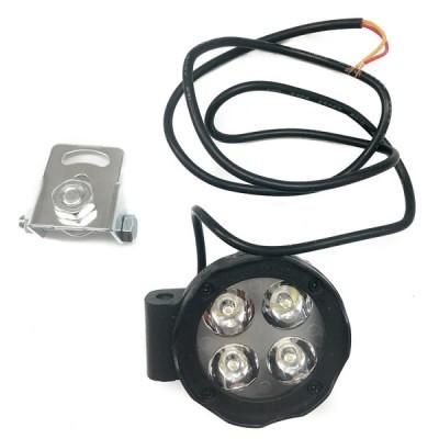 Дополнительная подсветка (4 диода) с крепежом 12V