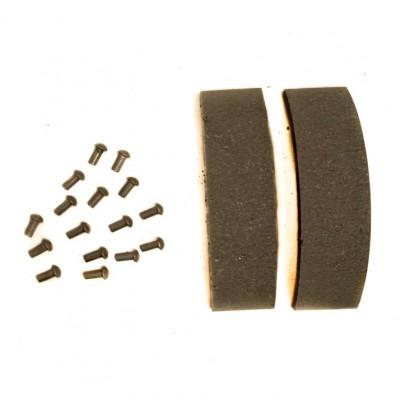 Накладки тормозных колодок с заклёпками Ява