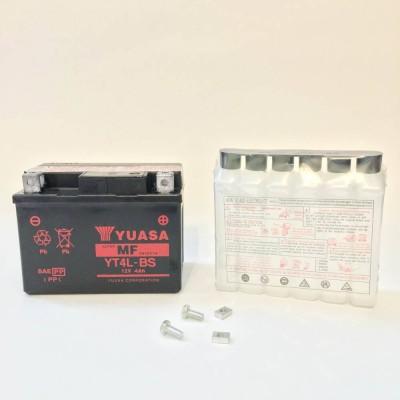 Аккумулятор YUASAYT4L-BS12V4Ah(сухозаряженный с электролитом)