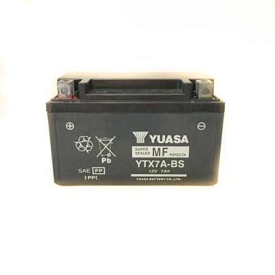 Аккумулятор YUASAYTX7A-BS12V7Ah(ГЕЛЬ)