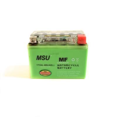 Аккумулятор YTX4L-BS (GEL) 12v4Ah 10HR MSU(Тайвань)