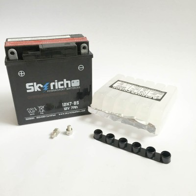 Аккумулятор SKYRICH (электролит)YTX7N-BS 12V7Ah