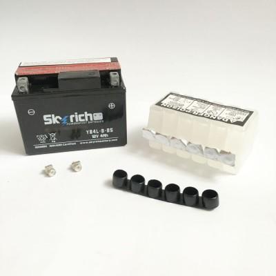 Аккумулятор SKYRICH (электролит)YВ4L-В-ВS12v4Ah