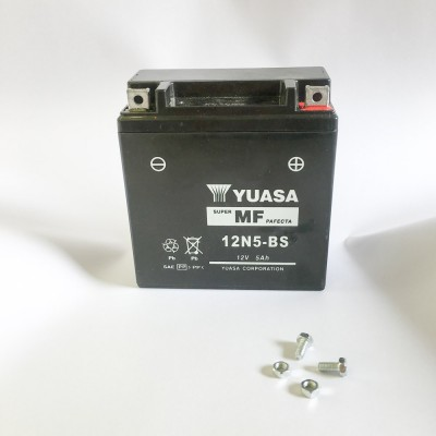 Аккумулятор YUASA12N5-BS 12V 5Ah (гель)