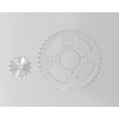 Звезда Дельта (комплект задняя, передняя 420 - 41 + 420 -14)