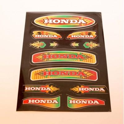 Наклейка Honda цветная