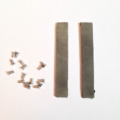 Тормозные накладки с заклёпками