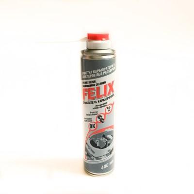 Очиститель карбюратора и жиклеров без разборкиFELIX (400 мл)