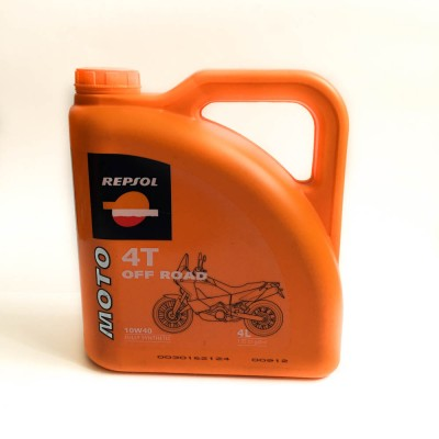 Масло мото4ТREPSOL 10w40 scooter Fully SYNTHETIC, OFF ROAD (4 л)