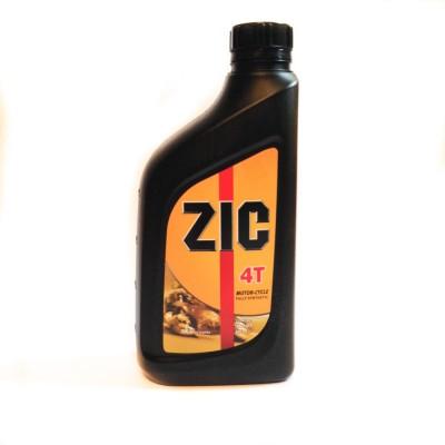 Масло ZIC 4 тактное синтетика