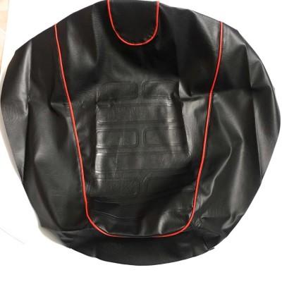 Чехол сидения SuzukiLETS (с красными строчками)