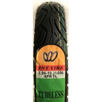 Покрышка 3.00-10J1400 4PR TL (безкамерка)TNT