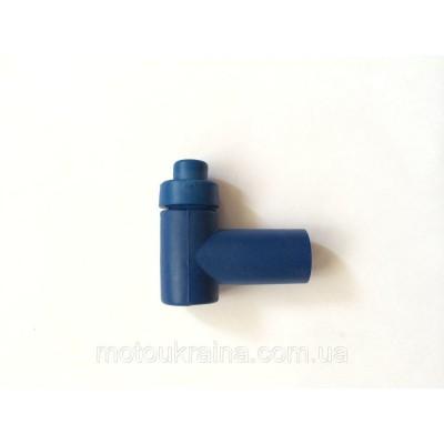 Колпачок свечи силиконовый синий